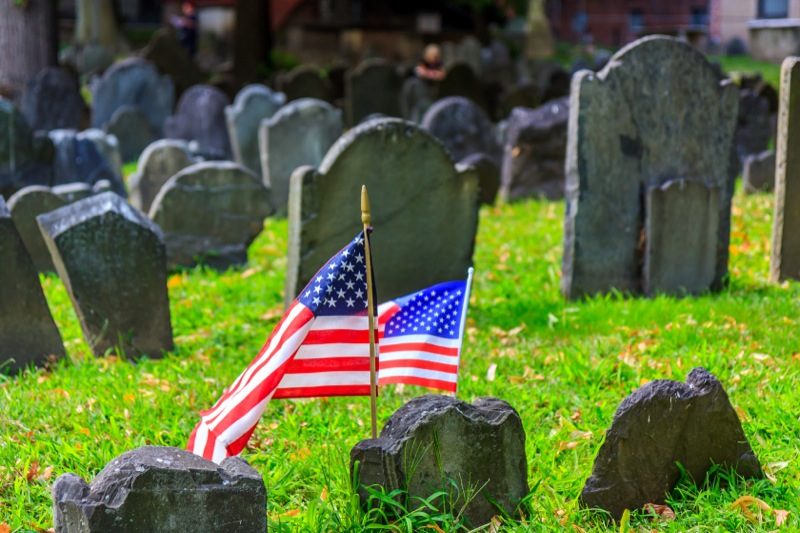 The Central Burying Ground