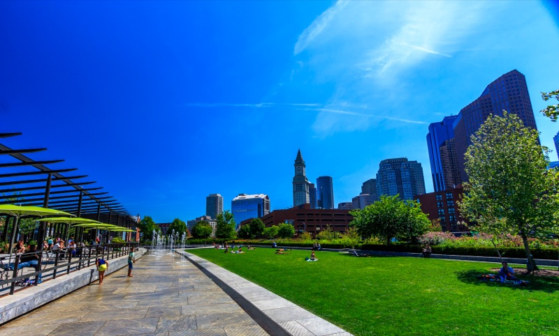 A nice day on the Greenway