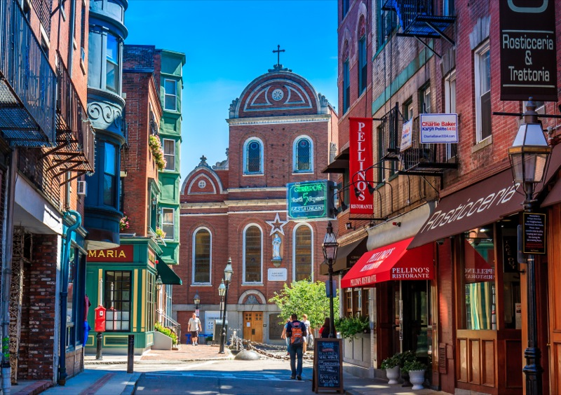 In the North End