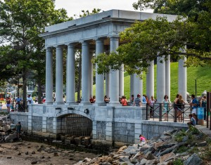 The site of Plymouth Rock