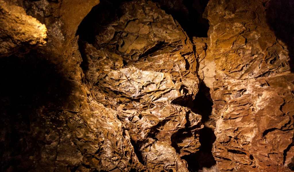 A mummy head in Wind Cave