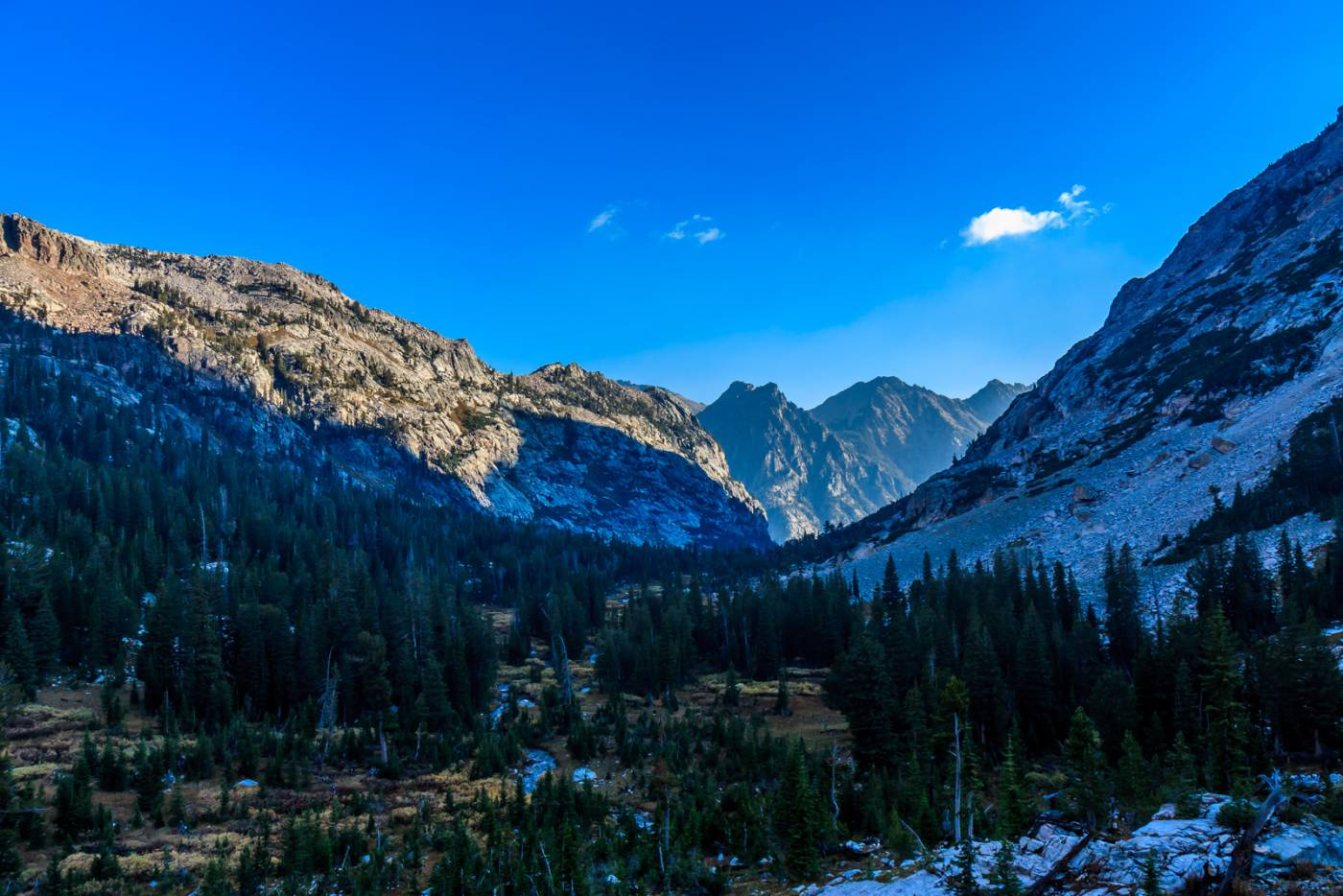 The ridiculously beautiful Cascade Canyon.