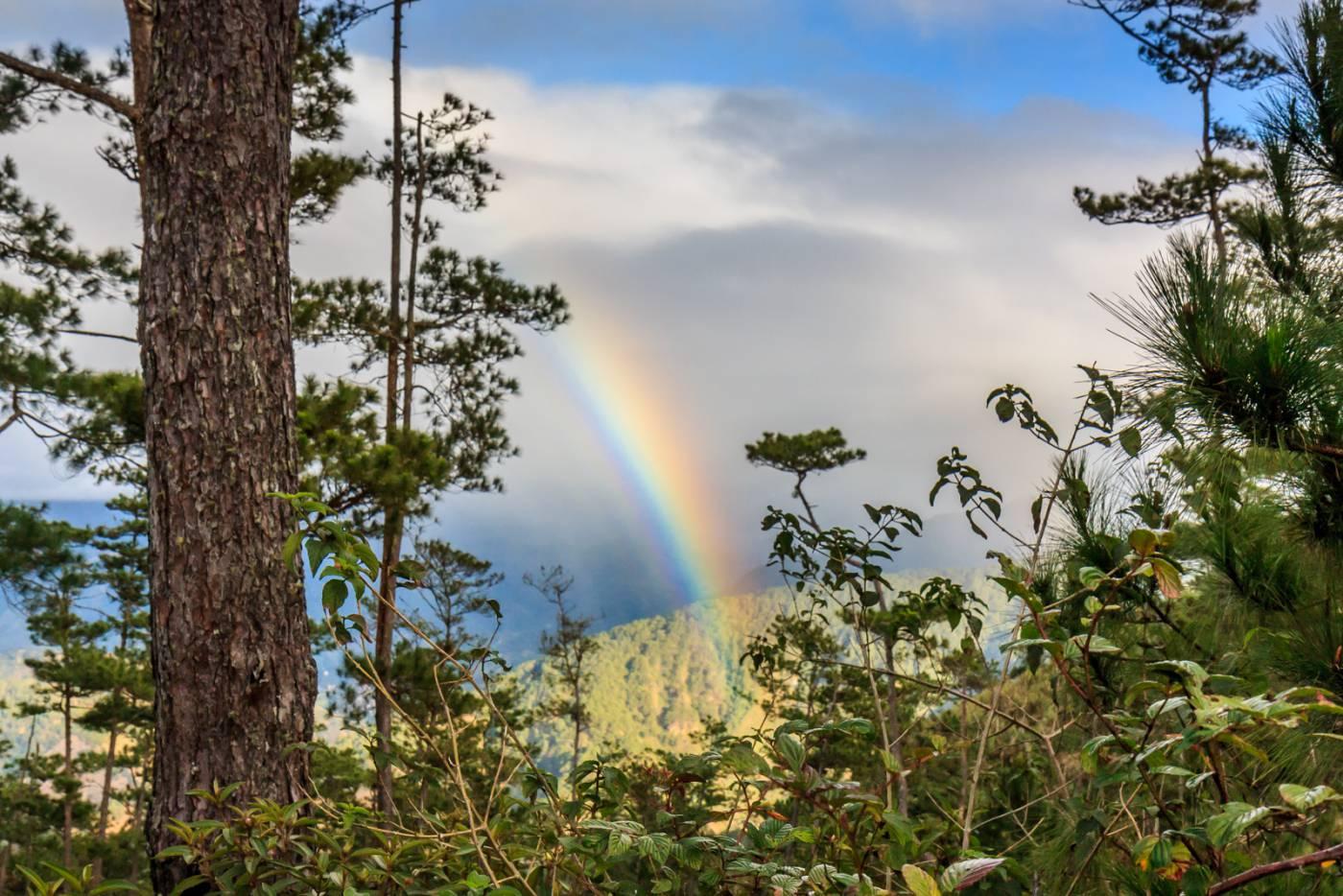 Rainbow in Marlboro Country.