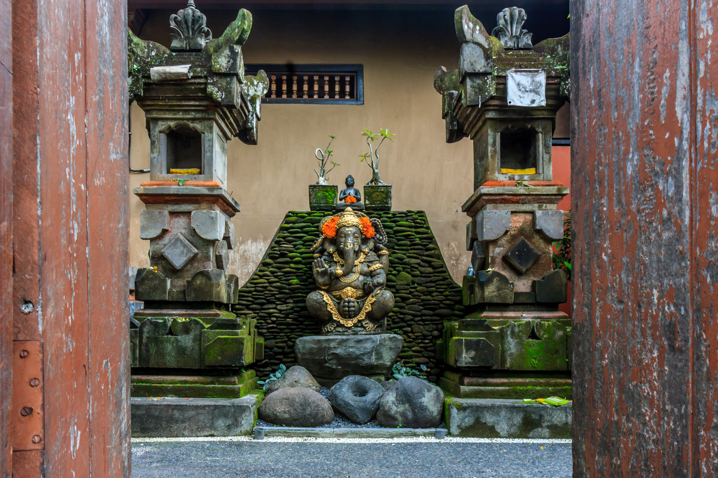 Just a typical house in Ubud, Bali