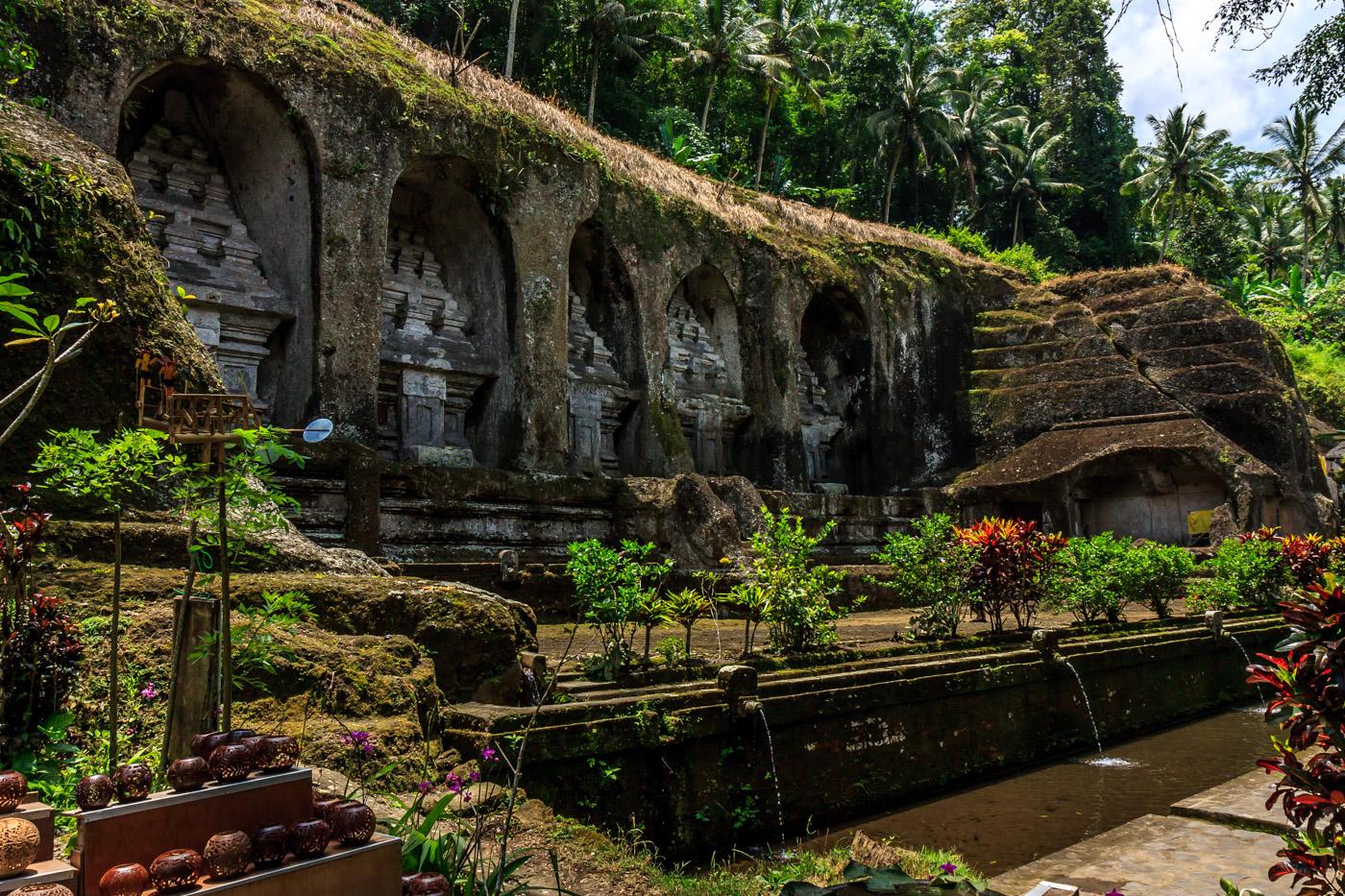 Pura Gunung Kawi, Bali, Indonesia: Templo bali tradicional
