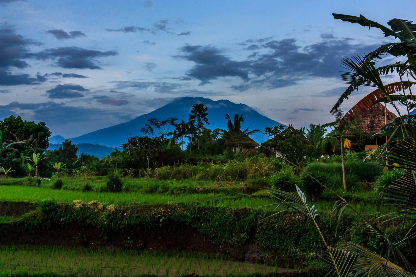 It's no surprise that Mt. Agung is holy.