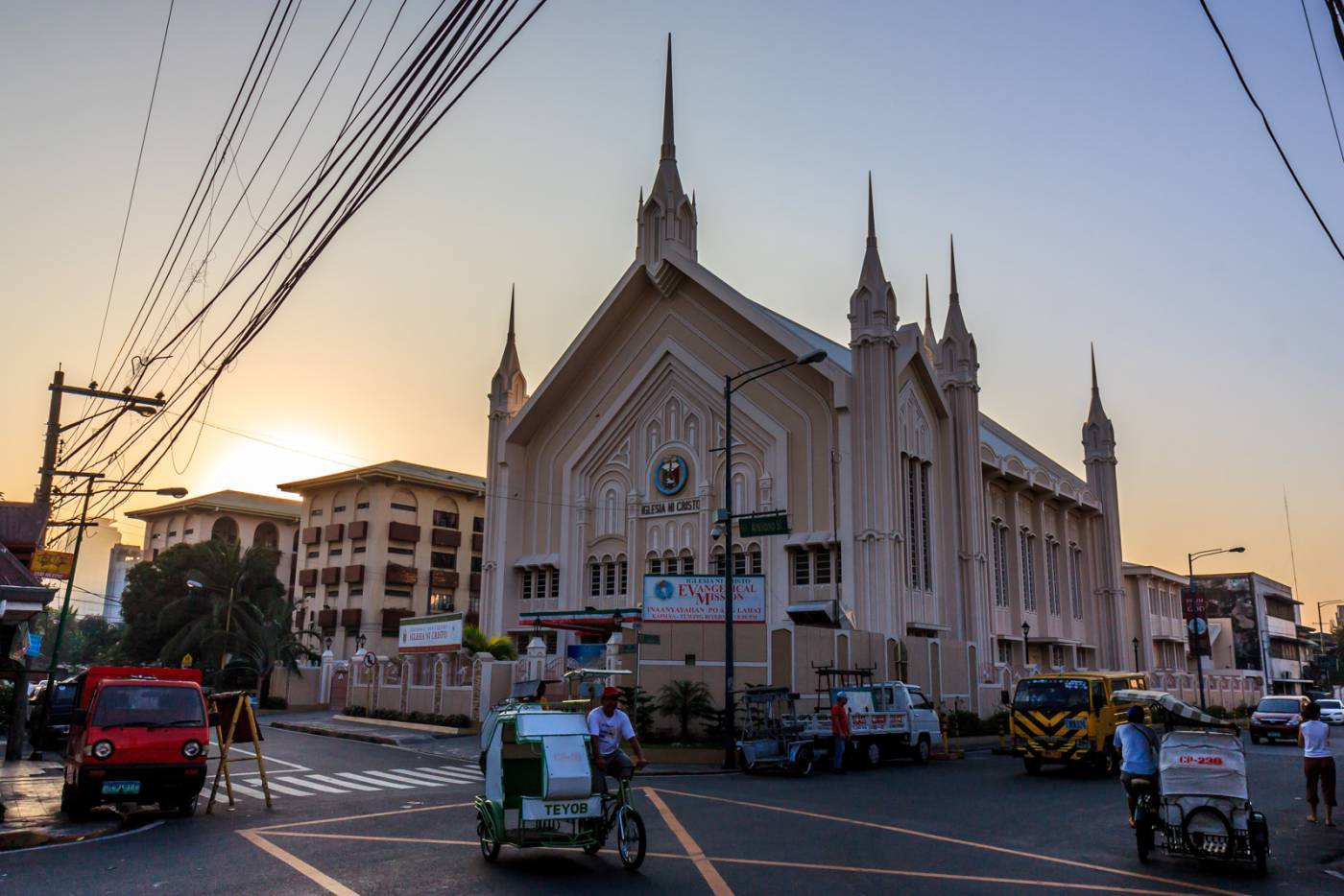 Church of Christ churches, like this one in Manila, are all over the Philippines