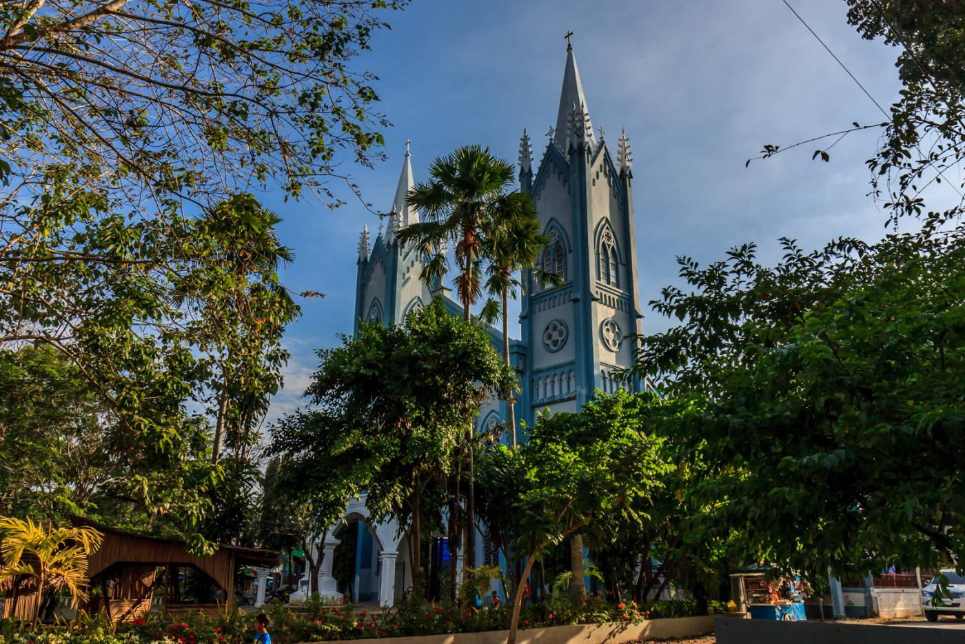The Puerto Princesa cathedral.