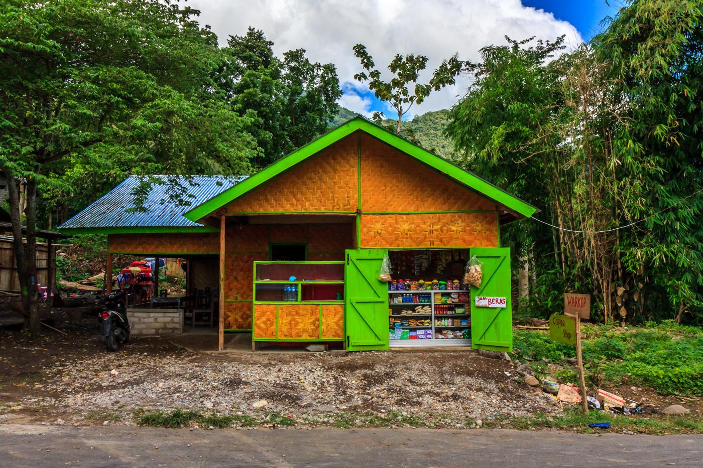 Colorful shop.
