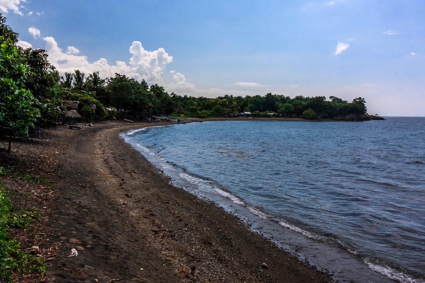 I had this beach to myself.