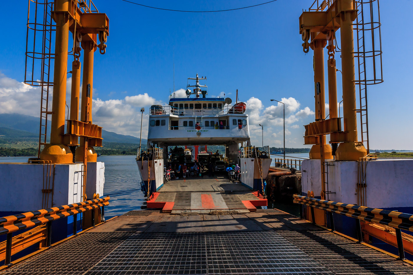 The ferry to Sumbawa. Just drive on.
