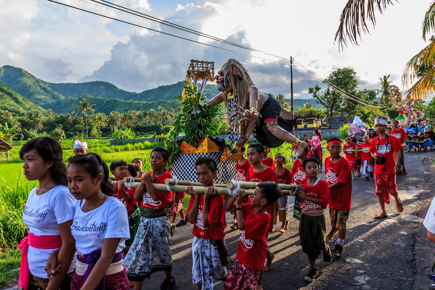 The ogah-ogah parade.