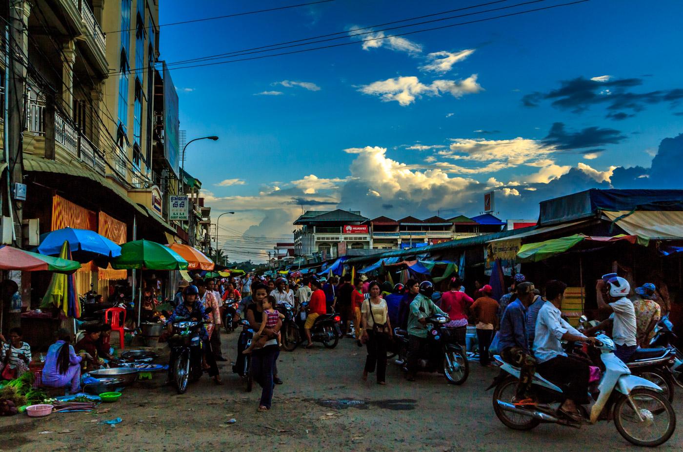 The Stung Treng market.