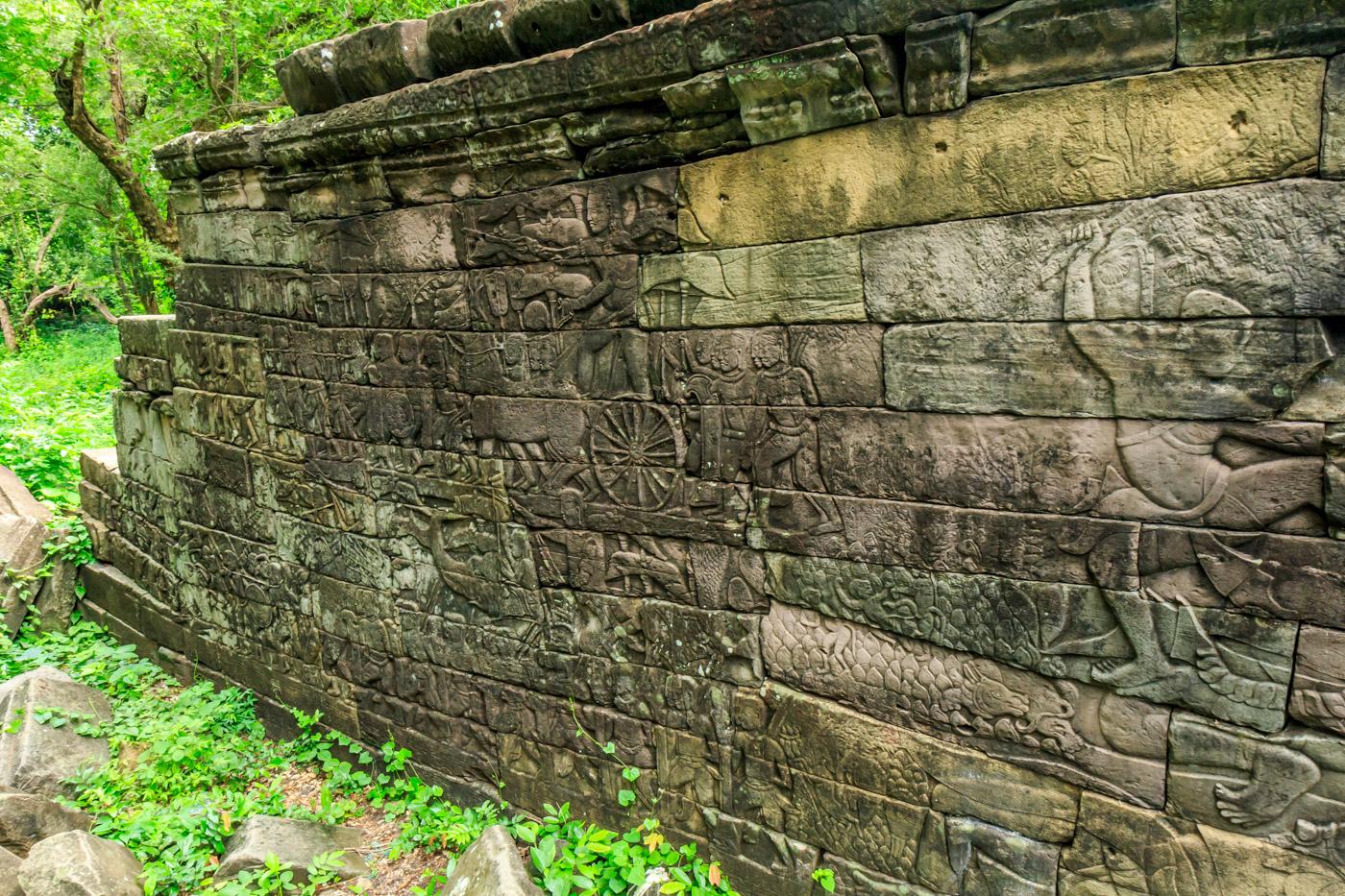 Remarkable bas-reliefs.