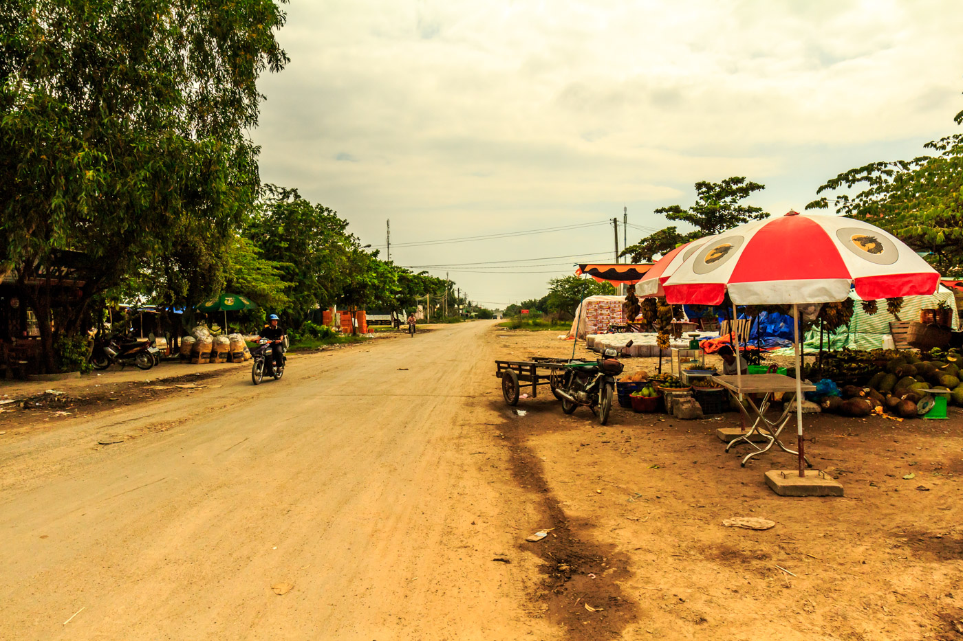 Vietnam, just across the border with Cambodia.