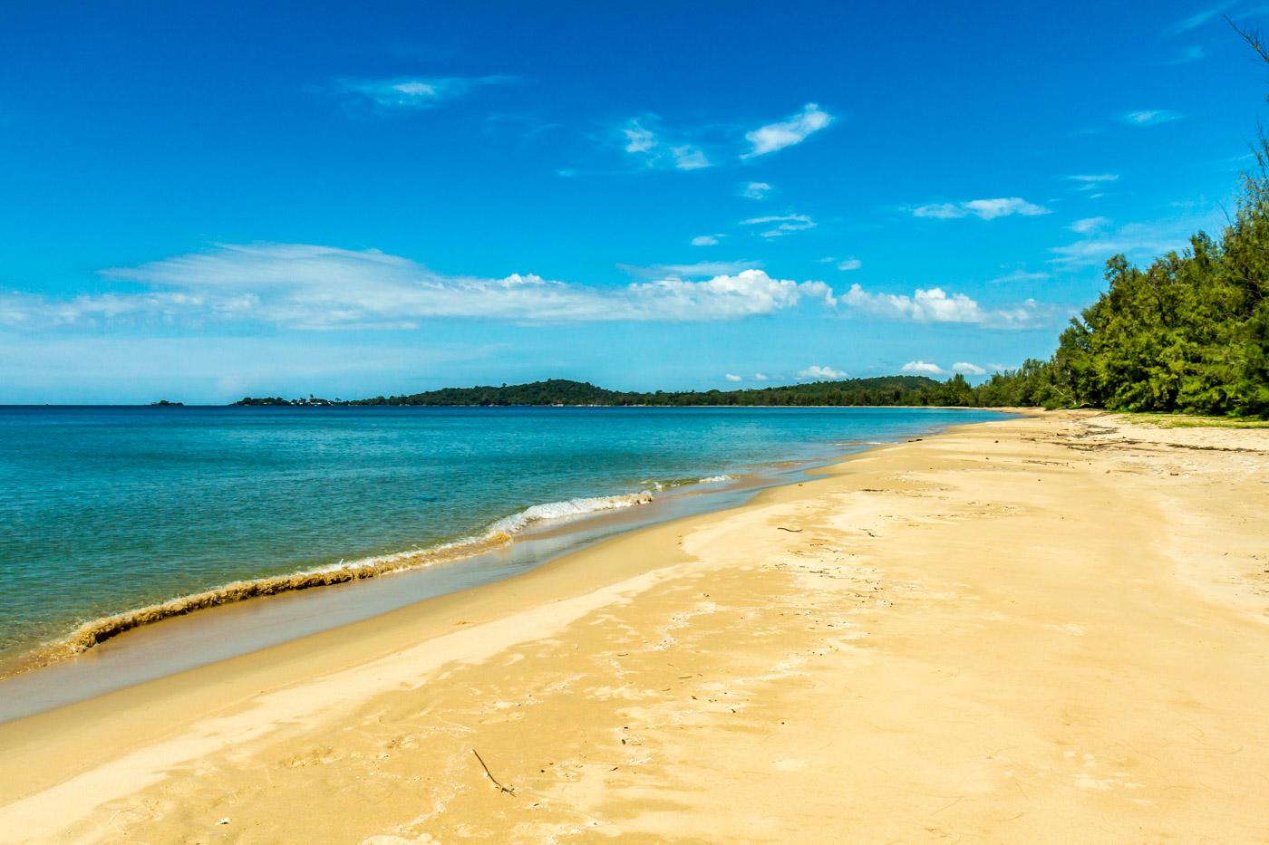 Dai Beach was a good place for a swim.