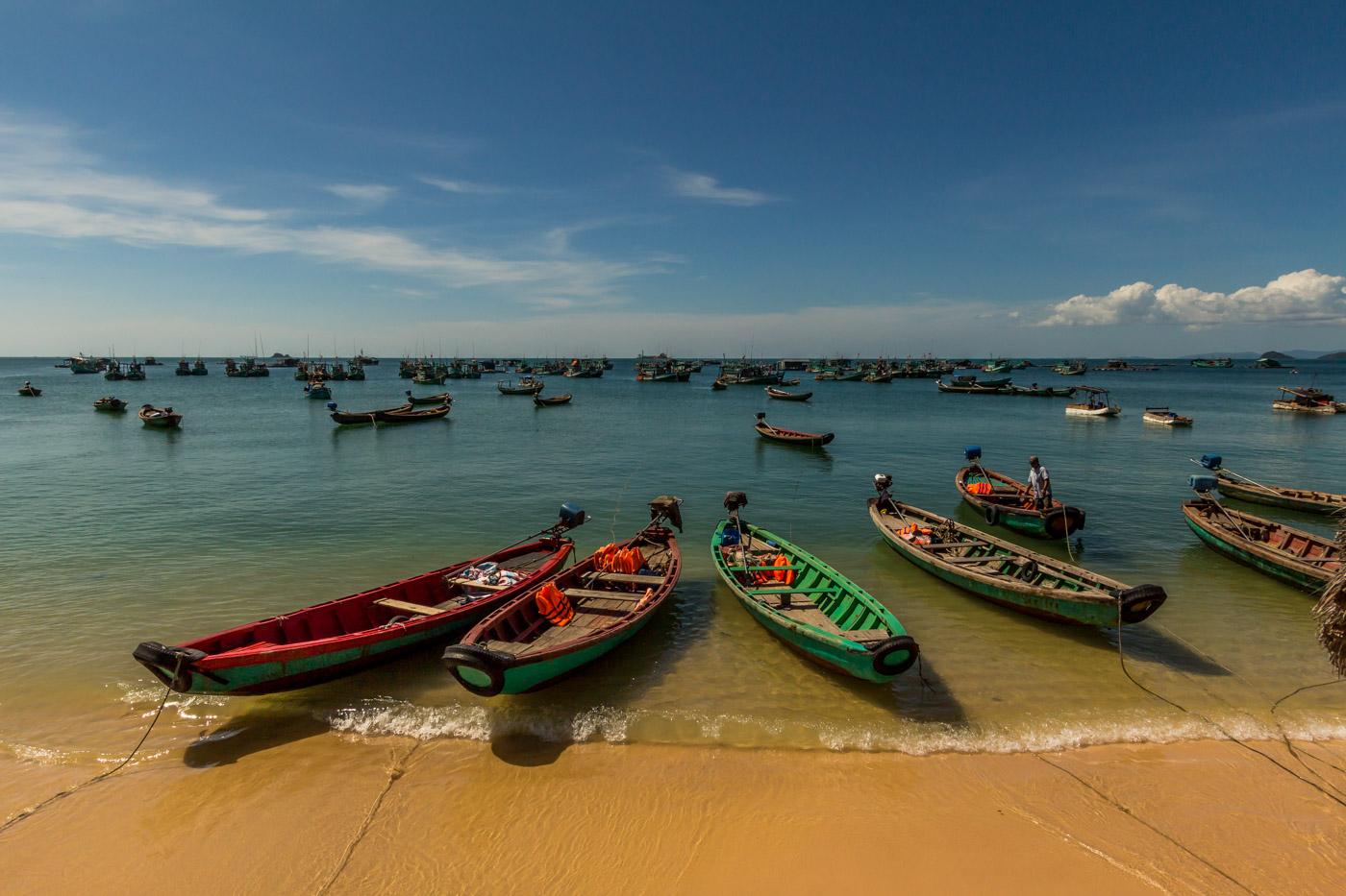 This fishing fleet.