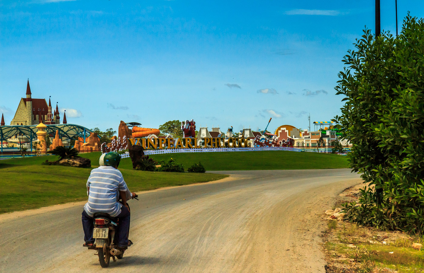 Because in Vietnam it's not enough to have a pristine island paradise.