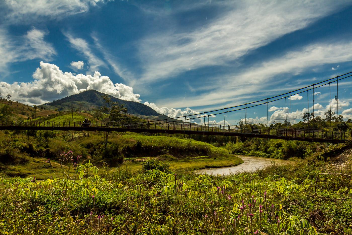 A scenic bridge.