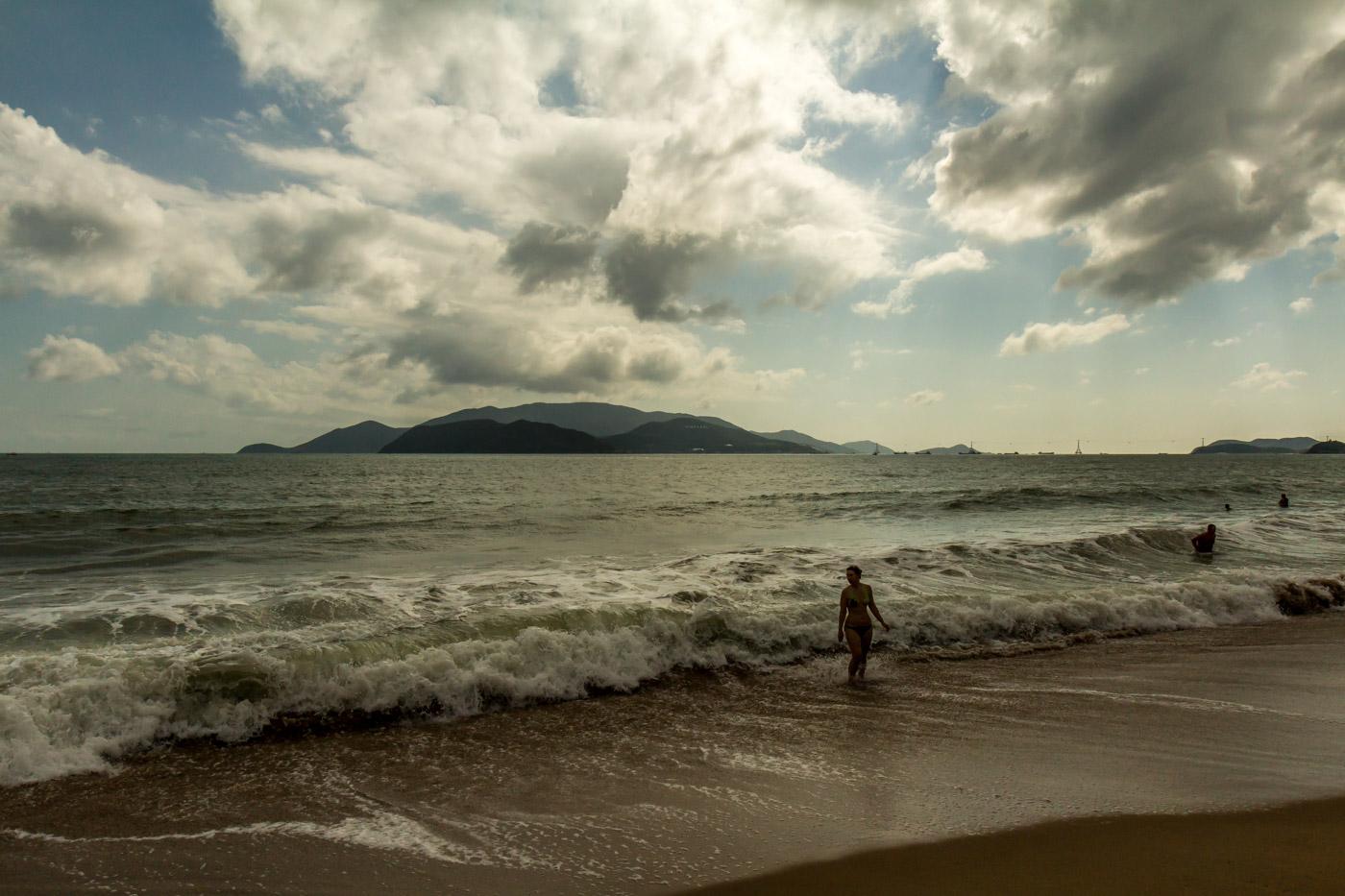 Nha Trang's beach is very nice.