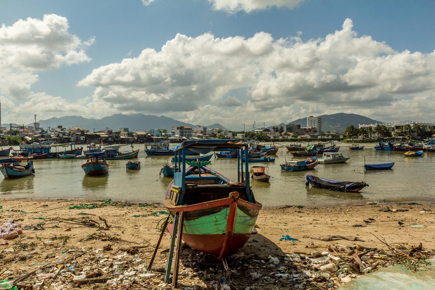 Nha Trang's fishing fleet.
