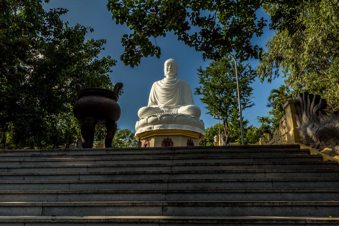 Buddha on the hill.