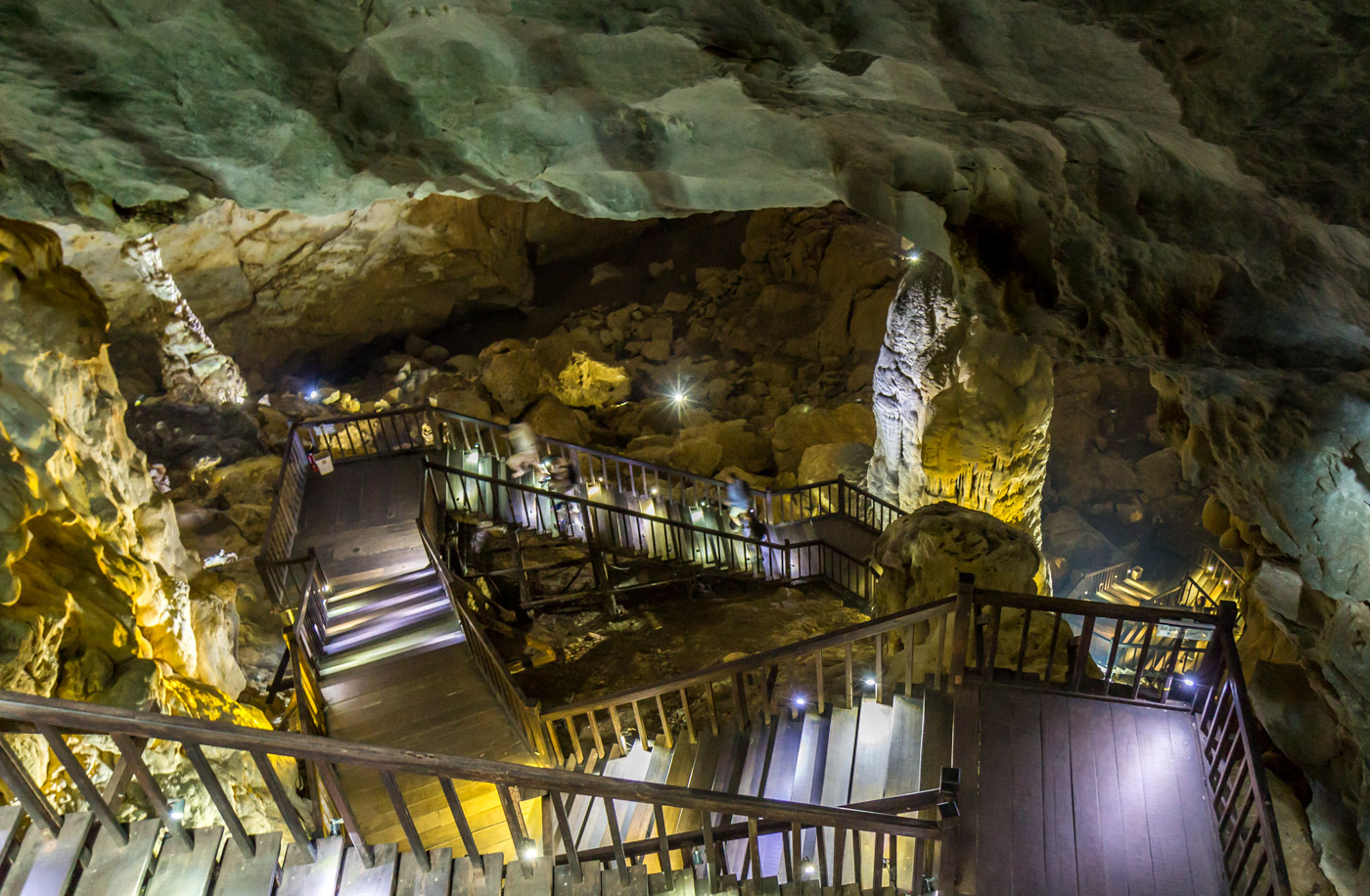 I went down into Paradise Cave.