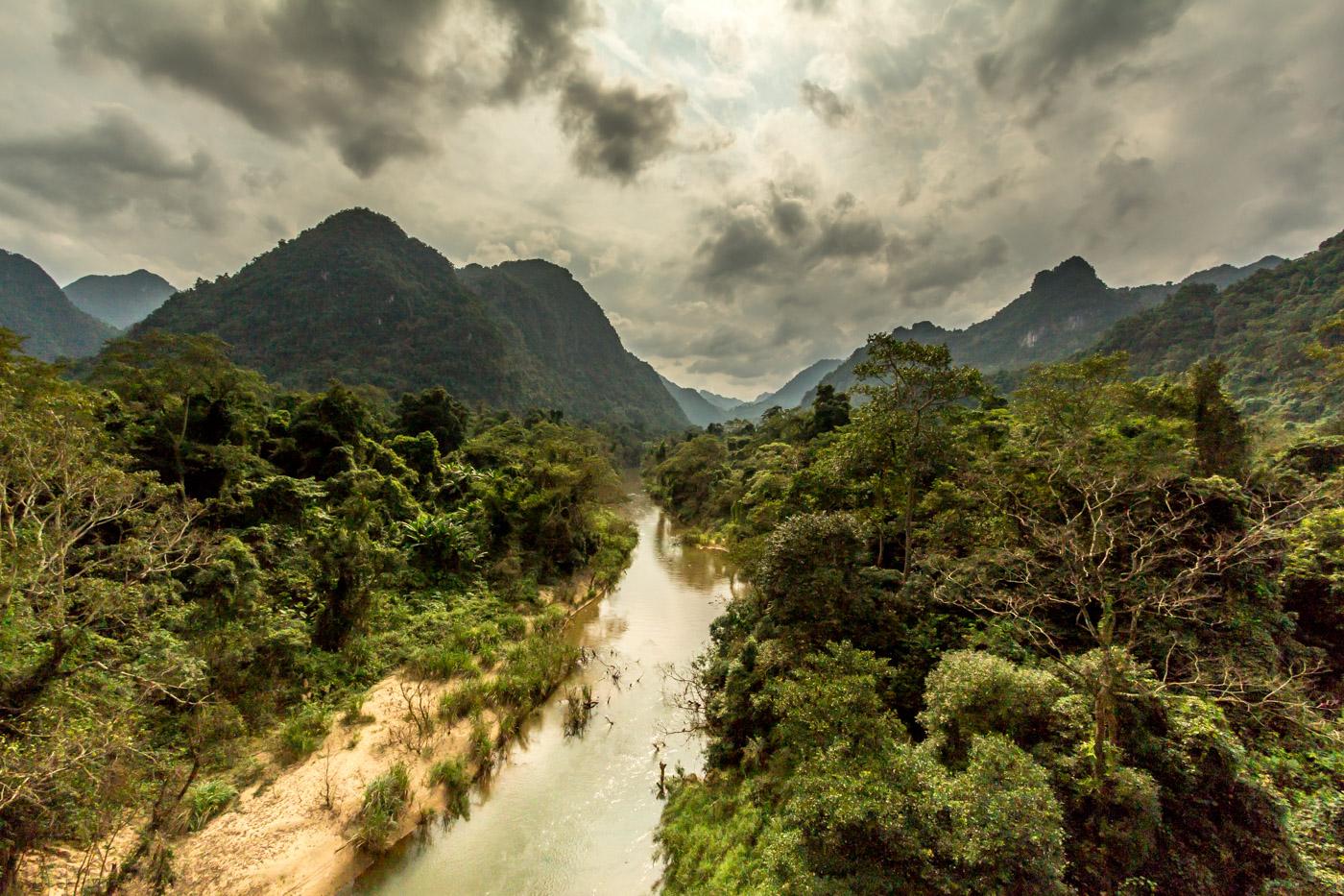 Then I headed towards Laos.