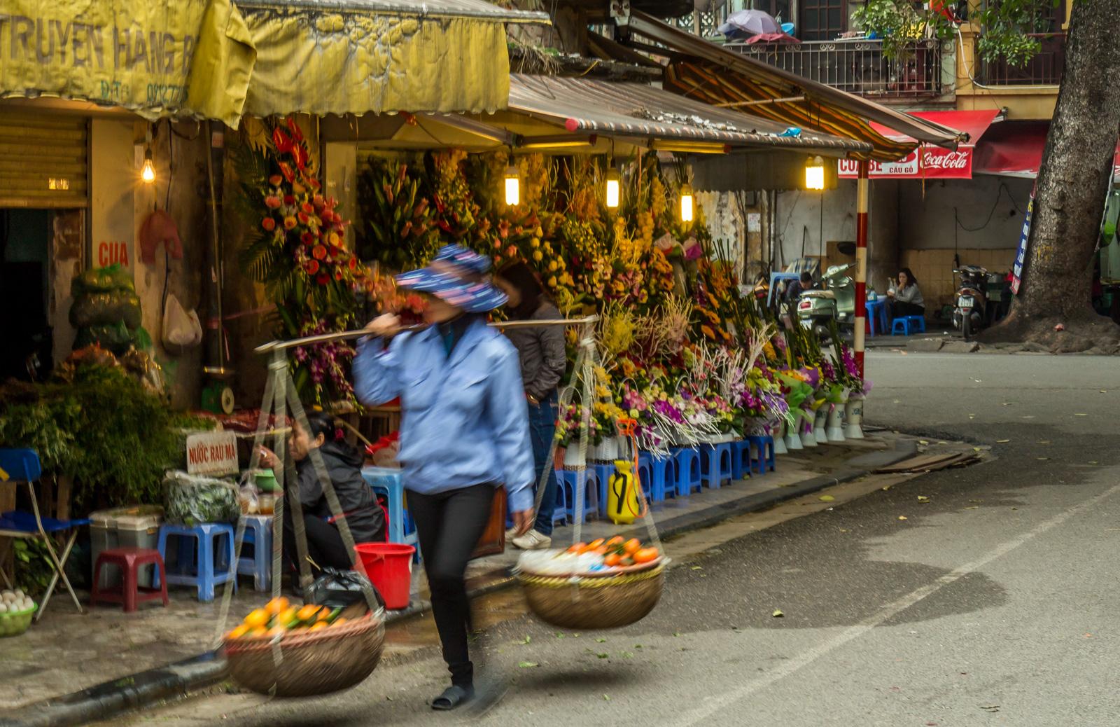 Fresh fruit is never far away in the Old Quarter.