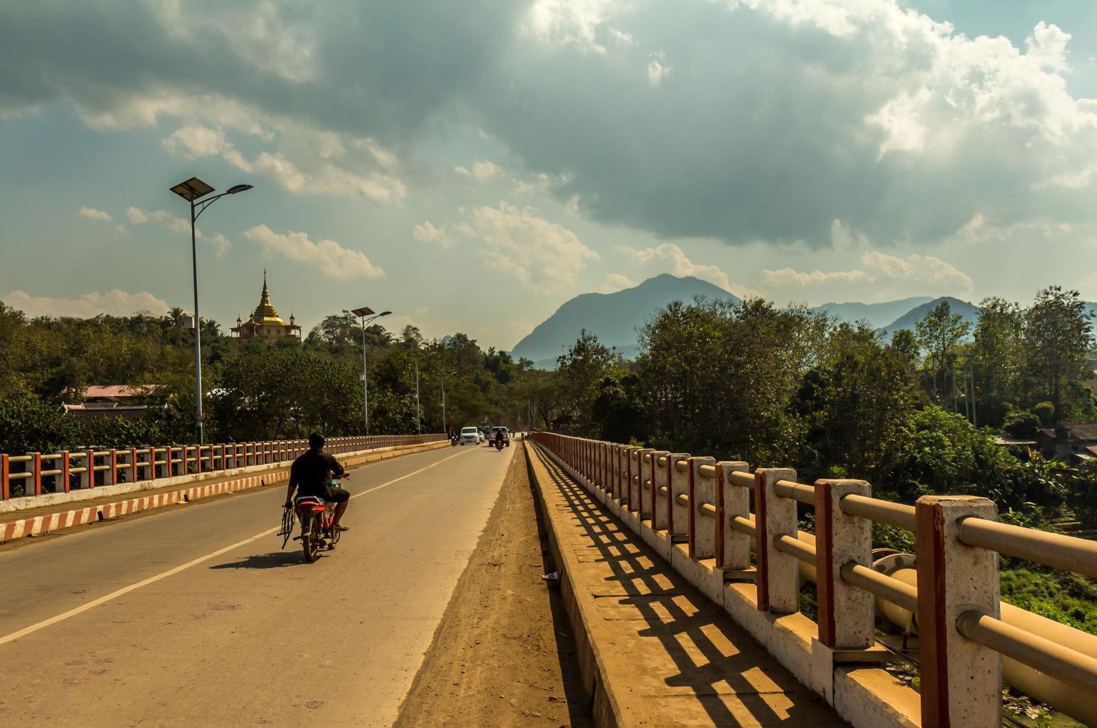 At last I arrived in Luang Prabang.