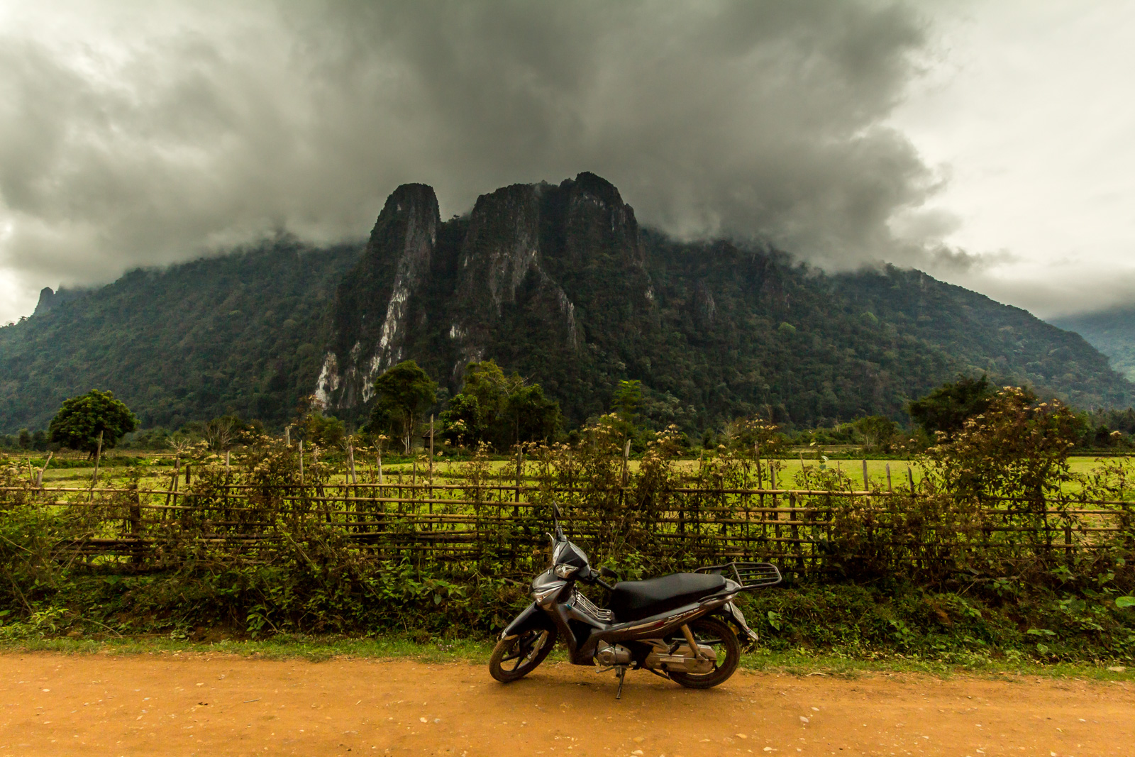 The Vang Vieng countryside is fantastic.