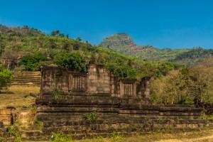 Khmer ruins in Laos.