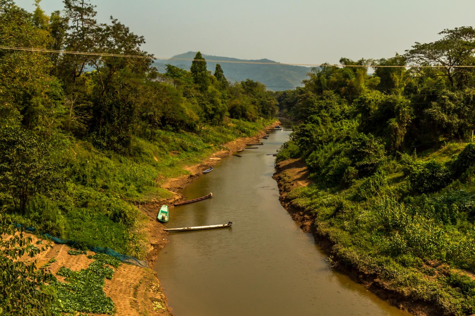 A scenic river.